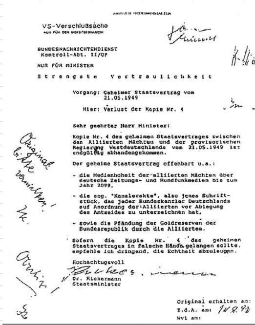 США оккупировали Германию в 1945 году и превратили её в свою колонию до 2099 года