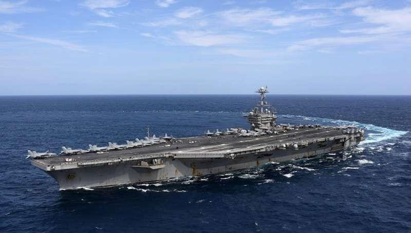 Перспективы применения авианосцев США в Чёрном и Балтийском морях
