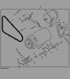 AIR CONDITIONING COMPRESSOR CONVERSION KIT (DELCO TO DENSO