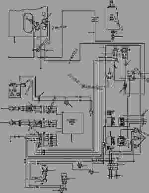 AWD WIRING DIAGRAM  Автогрейдер Komatsu GD650AAW2EY  ELECTRICAL | 777parts