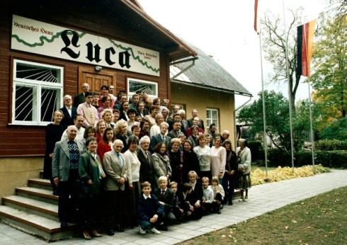 Немецкий дом в городе Ва́лмиера, Латвия