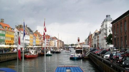 Новая Гавань в Копенгагене.