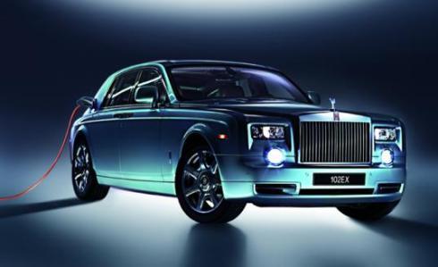Phantom 102 EX: электромобиль от Rolls-Royce
