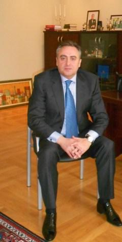 Чрезвычайный и полномочный посол Азербайджанской Республики в Латвии Эльман Зейналов