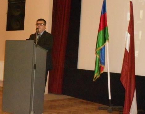 председатель Центра азербайджанской культуры «Оджаг» Роман Алиев
