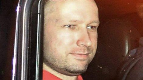 Андерс Брейвик вскоре после задержания | Фото: РИА Новости