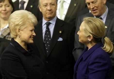 Госсекретарь США Хиллари Клинтон от имени президента Барака Обамы поздравила жителей Литвы с Днем восстановления Литовского государства, который отмечается 16 февраля.