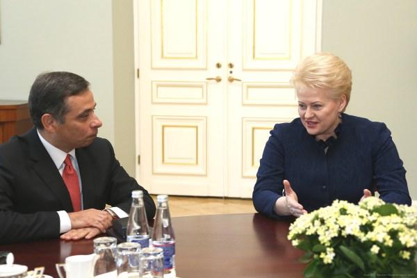 Энергетическая безопасность - предмет общего внимания ЕС и Литвы. Фото: Пресс-служба Президента