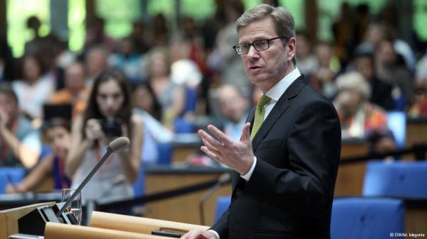 Глава МИД ФРГ Гидо Вестервелле (Guido Westerwelle)