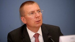Глава МИД Латвии Эдгар Ринкевич. Фото: LETA