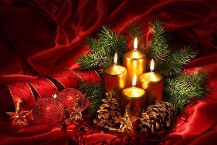 Weihnachten-Kerzen-gold