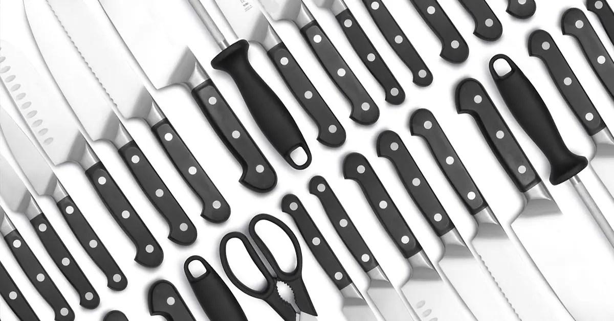 Инспекция кухонных ножей в Китае