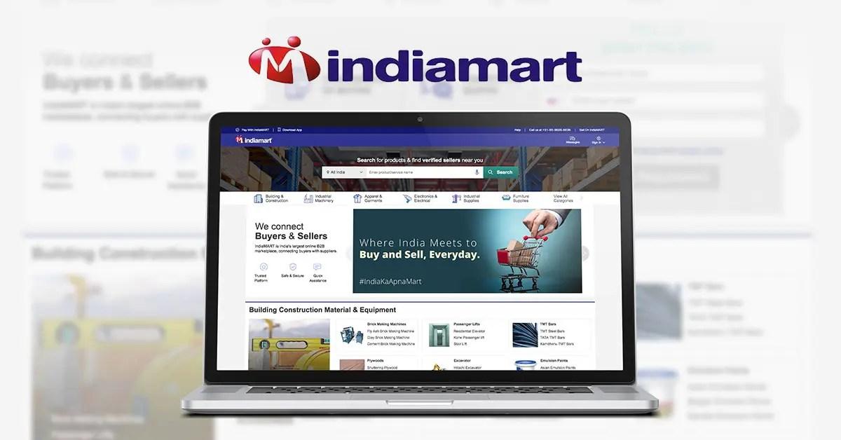 Indiamart.com – индийский аналог Alibaba.com