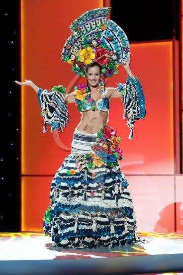 Мисс Вселенная - национальные костюмы (88 фотографий), photo:57