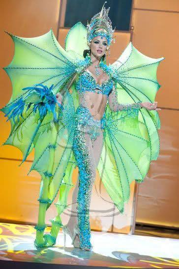Мисс Вселенная - национальные костюмы (88 фотографий), photo:87