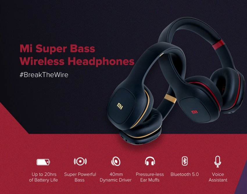 Image result for mi super bass wireless headphones