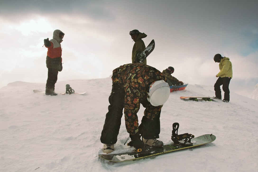 Scottish snowboarding