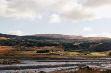Across Loch Scridain