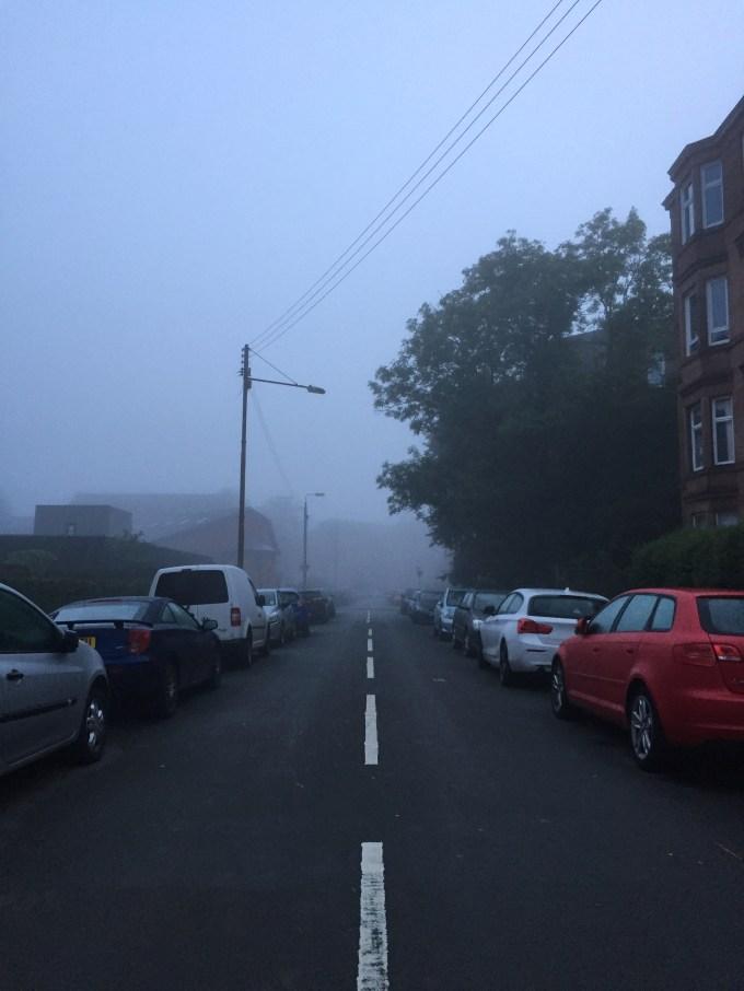 Foggy Glasgow