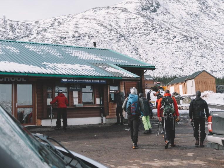 Glencoe Mountain Resort ticket office