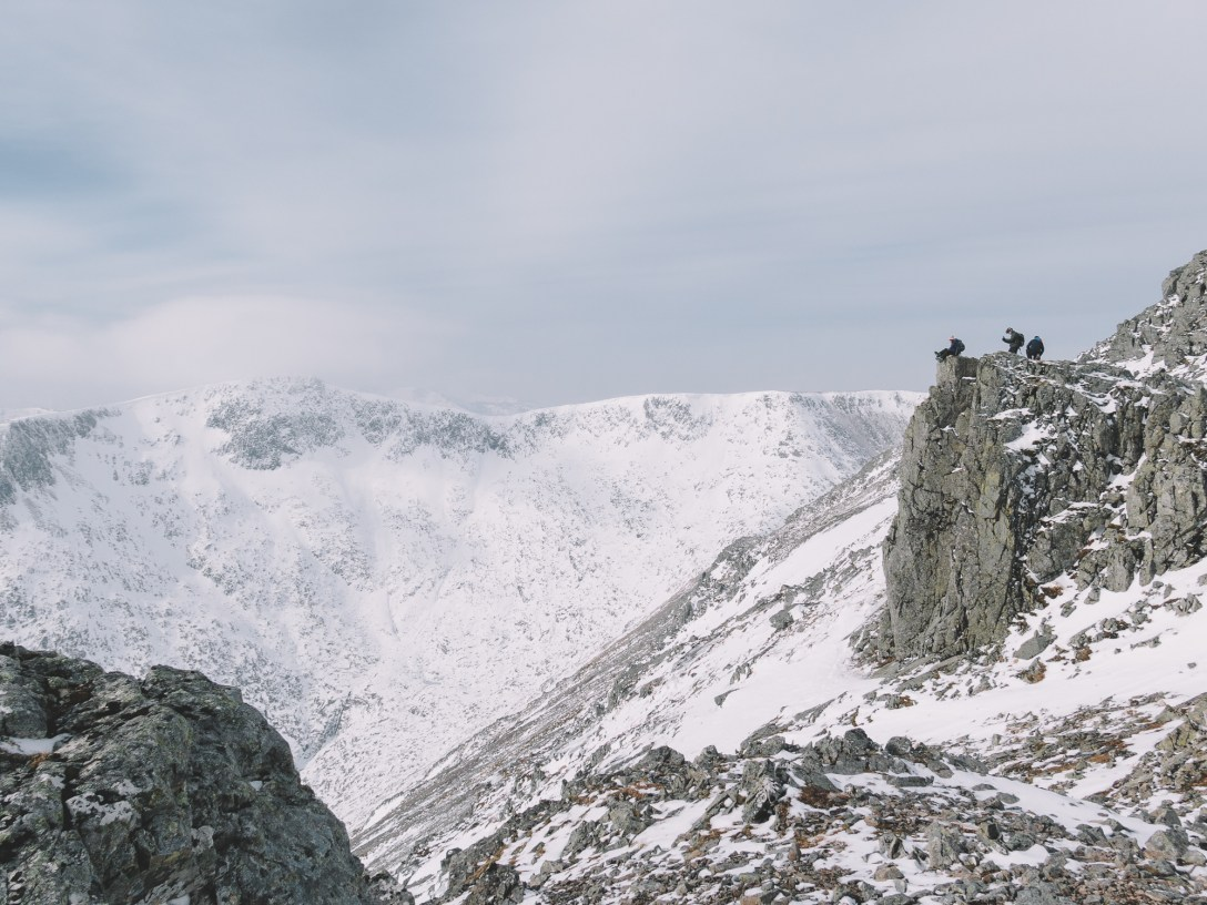 Over the back of the summit of Meall a' Bhuiridh