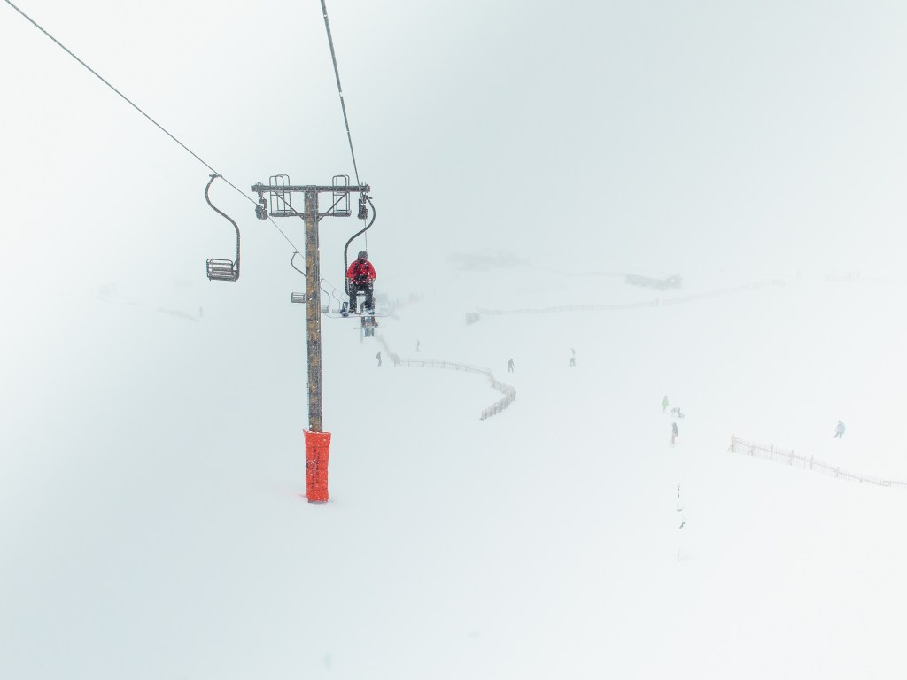 Cliffy chairlift