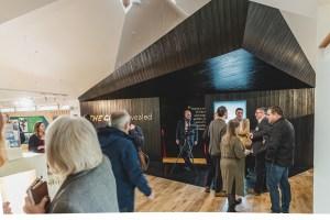 reception at NTS Glencoe re-opening