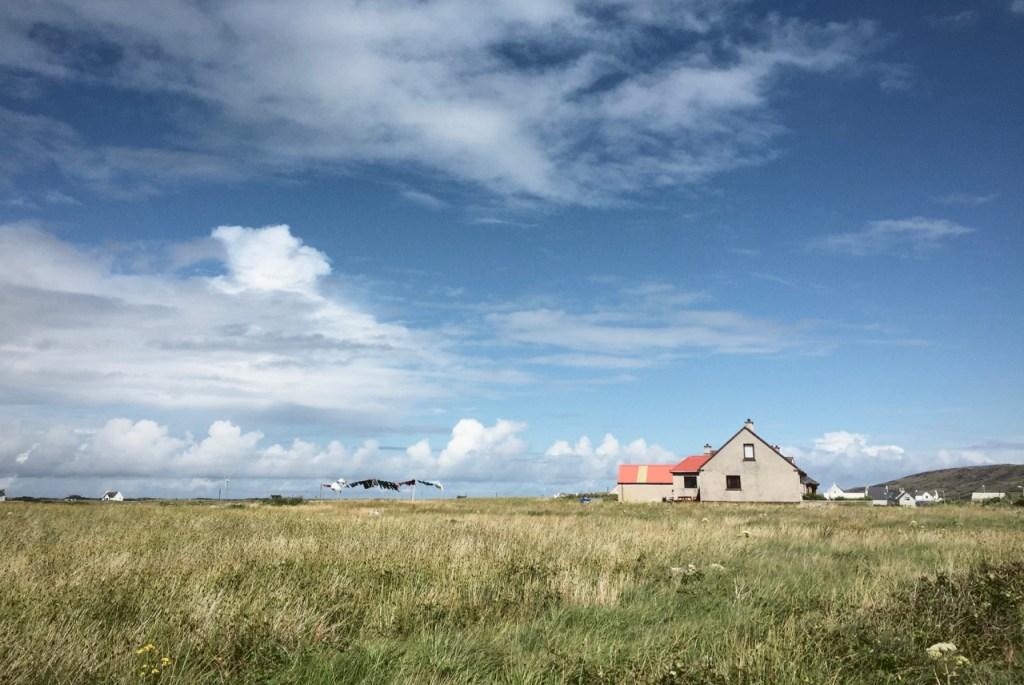 Big skies of South Uist
