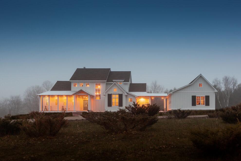 farmhouse blue exterior paint