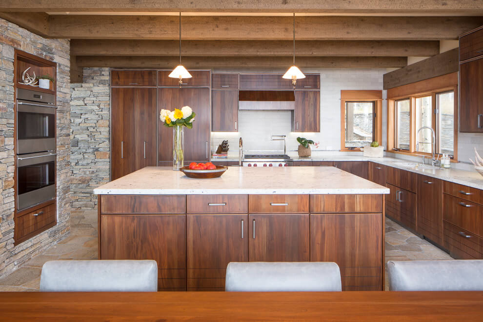 rustic kitchen ceiling ideas