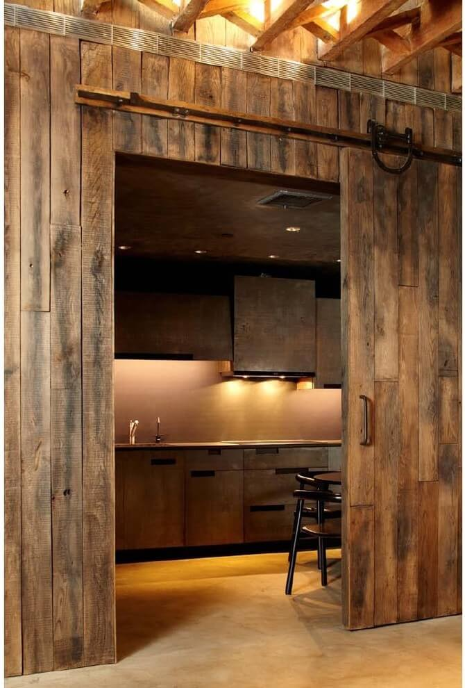 rustic kitchen counter ideas