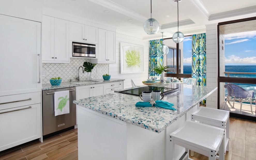 white kitchenaid dishwasher