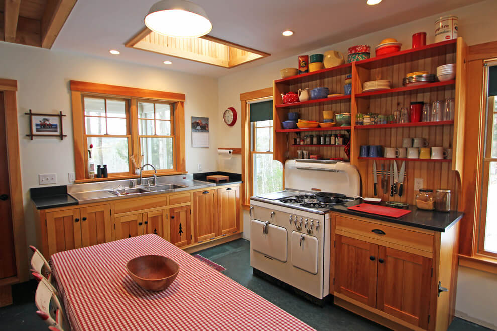 rustic kitchen ideas on a budget
