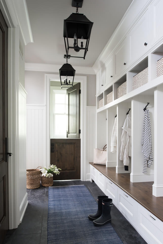 mudroom ideas for small spaces