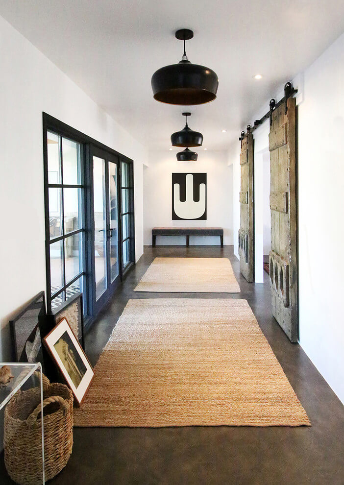 farmhouse hallway light fixtures