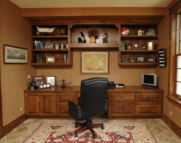 Unfinished Basement Ideas for Home Office