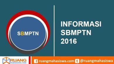 info sbmptn 2016