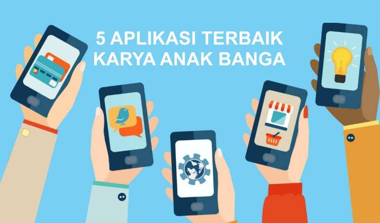 Cinta dengan 5 Aplikasi Karya Anak Bangsa Ini