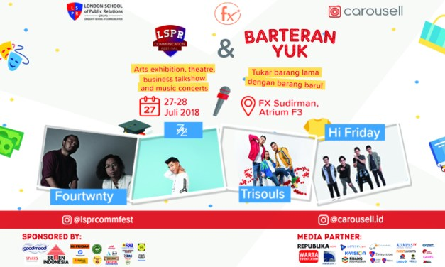 STIKOM LSPR Adakan LSPR Communication Festival 2018