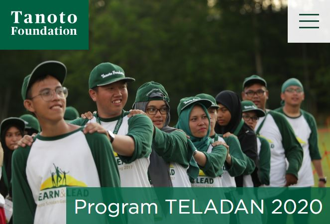 beasiswa program teladan tanoto foundation