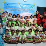 Sikat Gigi Bersama Mahasiswa Universitas Mercu Buana Dalam Kuliah Peduli Negeri