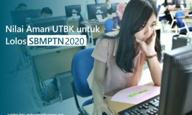 Nilai Aman UTBK untuk Lolos SBMPTN 2020 – Passing Grade