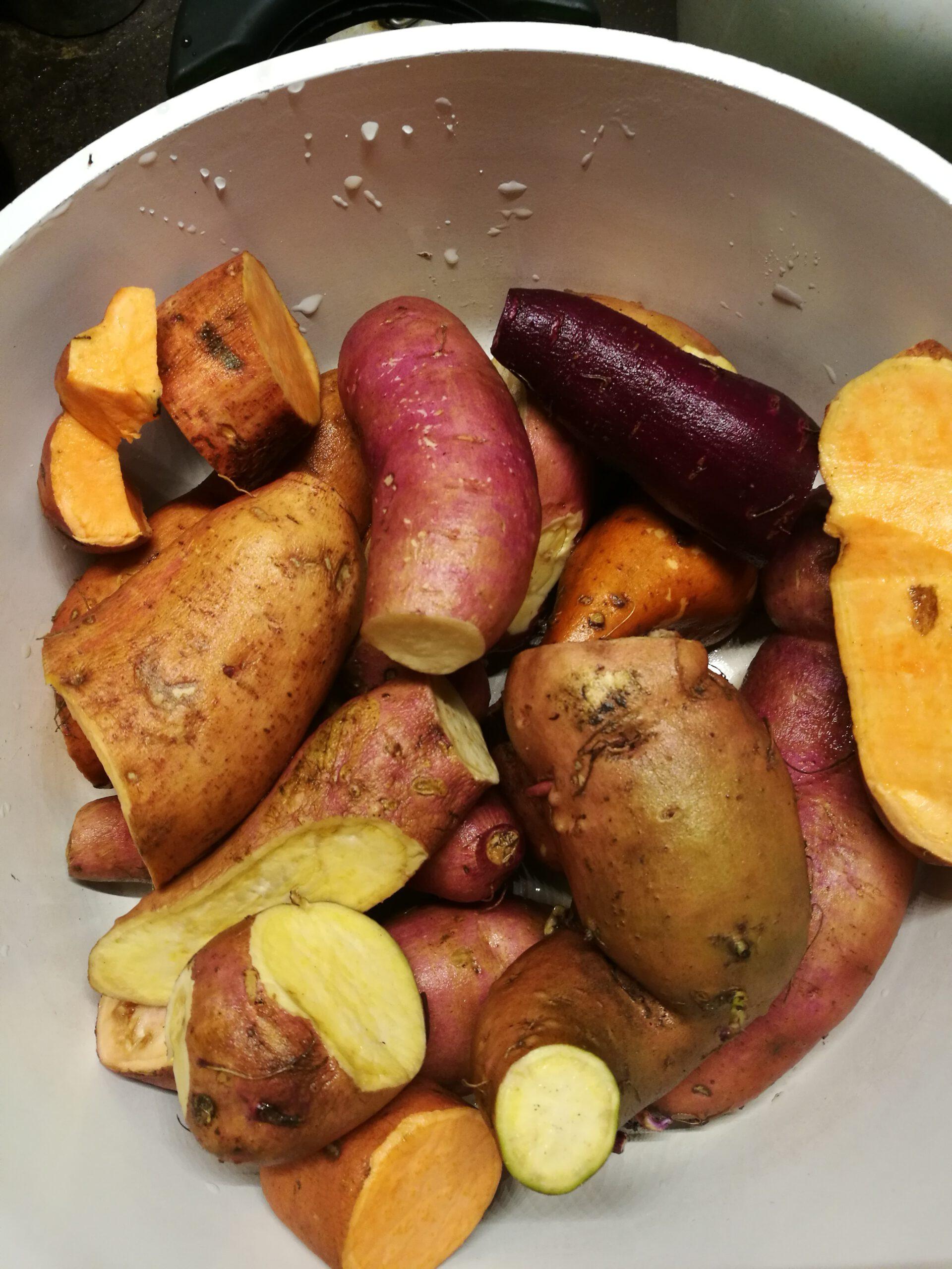 You are currently viewing Süßkartoffelbrei oder Süßkartoffelpüree?