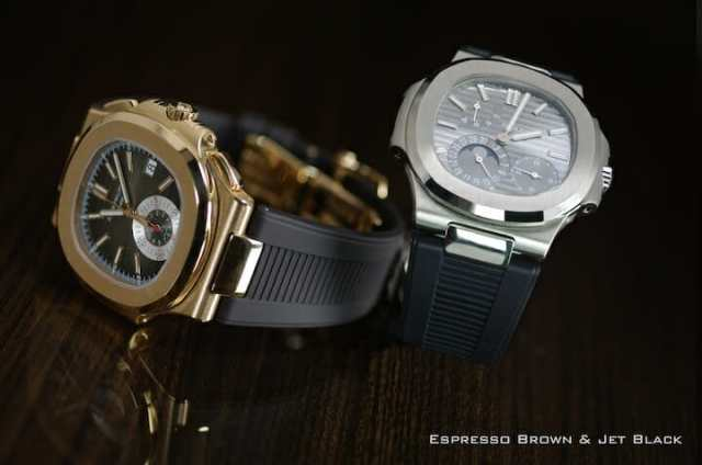 Rubber Straps For Patek Philippe Nautilus 5711