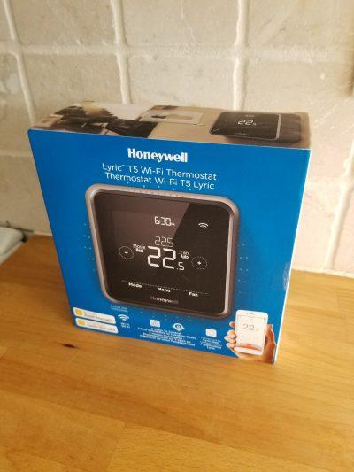 Honeywell Lyric T5 Smart Thermostat – RubberCheese Reviews