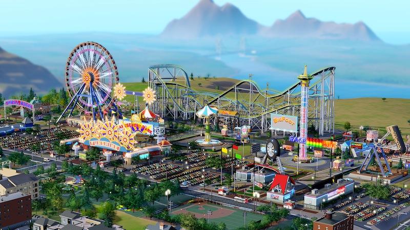 SimCity já tem (mini) parque de diversões.