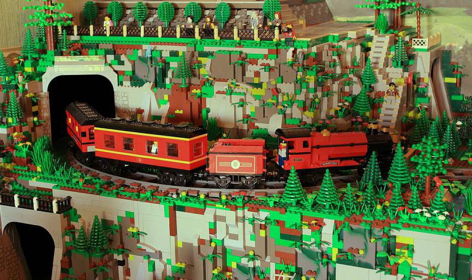 A cidade Lego que todos queríamos ter