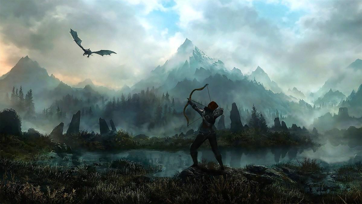 Bethesda e os 10 sítios onde iremos jogar Skyrim