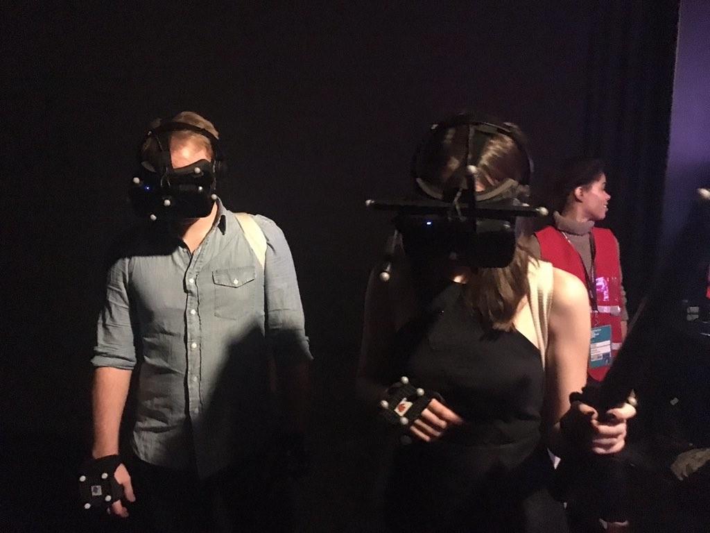 O One-Man Show das experiências VR
