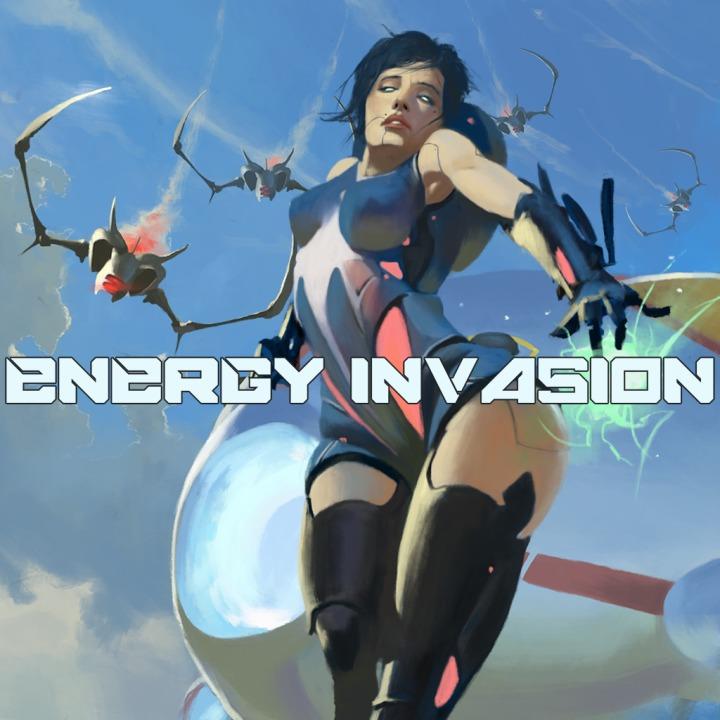 Energy Invasion - Colisões de pôr os olhos em bico